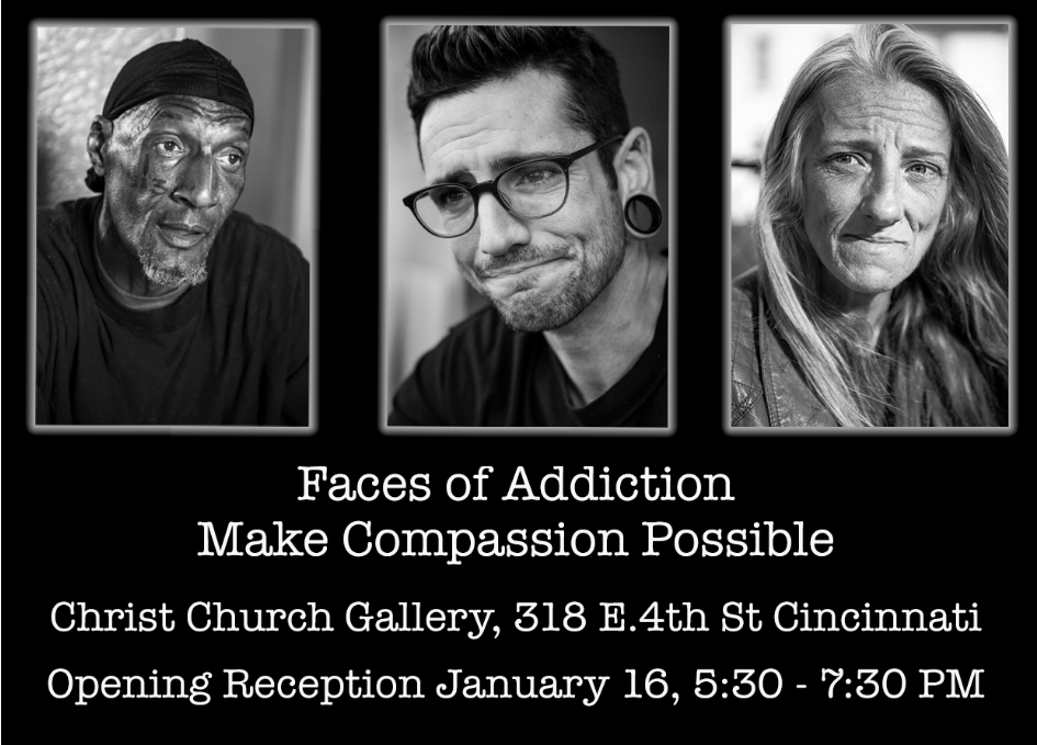 faces of addiction exhibit cincinnati